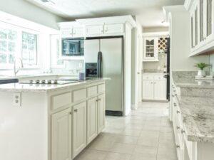 Kitchen in a Lake Martin Alabama home for sale.